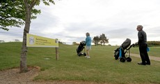 Golfers enjoy 'Christmas Day' as they flock to the fairways on first day of restrictions easing