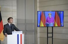 Merkel and Macron agree €500 billion virus recovery plan for Europe