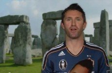 VIDEO: Hollywood gets Robbie Keane acting... kinda