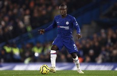 Chelsea midfielder N'Golo Kante misses training over safety concerns