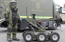 Improvised explosive device made safe in Cork