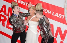 Jedward are quarantining in LA with American Pie actress Tara Reid