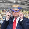 'I had one on before': Trump avoids wearing mask during tour of Ford factory despite company policy