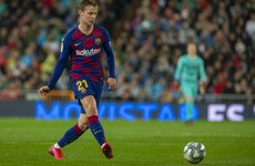 Barcelona midfielder 'not ready to play yet'