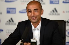 'I don't feel any shadow above me or behind me' - Di Matteo comfortable in Chelsea hot seat