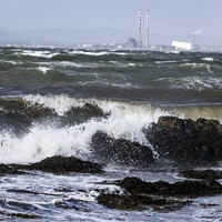 Status Yellow warning issued for one county as strong winds and rain continue