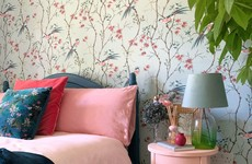 'The wallpaper was my starting point': Leah's country-inspired apartment bedroom