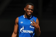 Wales teen Matondo angers Schalke by wearing Borussia Dortmund shirt