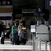 From today, people arriving into Ireland have to put on record where they're staying