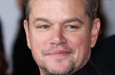 Matt Damon photographed leaving Ireland after three-month lockdown stay