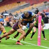 Australian rugby league makes return with virtual crowd noise