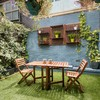 'Raid the house for cushions and throws': How to get your garden summer-ready in under 24 hours