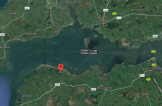 Child rescued by helicopter after airbed drifts 1km from shore in the Shannon Estuary