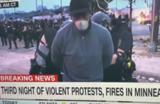 Minneapolis riot police arrest CNN crew reporting live on George Floyd protest