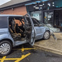Man due in court after car crashes into Clondalkin shopfront