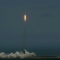 Watch live: SpaceX tries again for historic blast off from Kennedy Space Centre