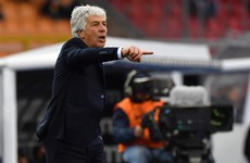 Atalanta boss Gasperini had Covid-19 during Champions League game and feared he would die
