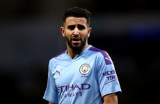 Man City's Mahrez has watches worth £300,000 stolen - reports