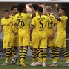 England youngster grabs hat-trick as Dortmund romp to big victory
