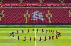 Liverpool squad takes knee at Anfield, United stars express anger following death of George Floyd