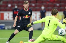 Werner nets 31st of the season as Leipzig move back into third