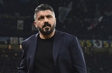 Napoli manager Gennaro Gattuso mourning the death of his sister aged 37