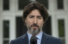 Lengthy pause from Trudeau as he's asked about use of tear gas on US protesters