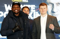 Whyte-Povetkin bout still on track for this summer claims Matchroom