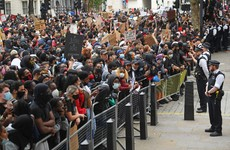 Large crowds gather in London's Hyde Park for Black Lives Matter protest