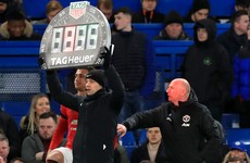 Premier League approves increase in number of substitutes to five per team