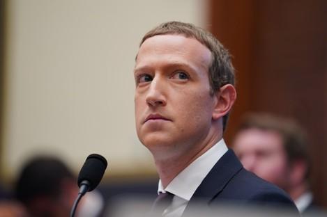 File photo. Facebook CEO Mark Zuckerberg.