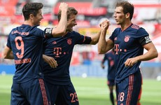 Bayern Munich continue march to Bundesliga title with comeback win at Leverkusen