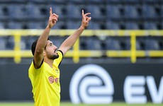 Emre Can goal maintains Dortmund's slim title hopes