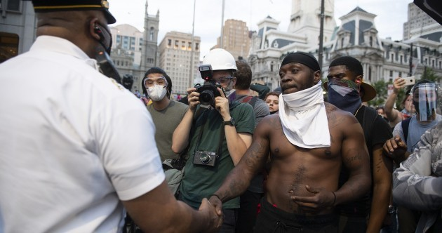Photos: Tens of thousands march in demonstrations against racism and police brutality in the US