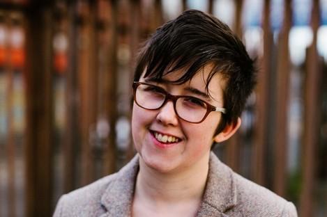 Lyra McKee was killed in Derry last year