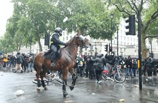 Assaults on police officers at UK anti-racism rally 'shocking', Met Police chief says
