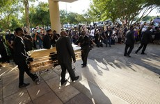 'He has not died in vain': Thousands gather in Houston to mourn George Floyd before private funeral