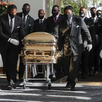 Funeral of George Floyd takes place in Texas