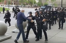 'Cruel and reckless': NY governor slams Trump over claims about protester (75) who was hospitalised by police