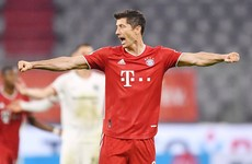 Lewandowski scores 45th goal this season to fire Bayern Munich into German Cup final