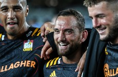 Cruden on the bench as Chiefs and Highlanders name a debutant each