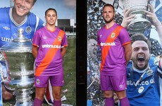 Linfield insist new kit's UVF resemblance is 'coincidental and unintentional'