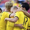 Haaland prolongs Bundesliga title race with 95th-minute winner for Dortmund