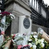 28-year-old arrested after image shows man urinating next to police officer's memorial in London