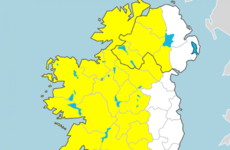Met Éireann issues thunder and lightning weather advisory notice for Monday