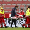 Mainz's Liverpool loanee stretchered off during German league game