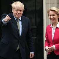Boris Johnson to hold video call with Ursula von der Leyen in bid to revive post-Brexit trade talks