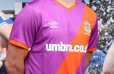 Umbro will not promote Linfield kit that has come under scrutiny over UVF resemblance