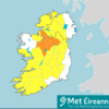 Met Éireann issues yellow or orange weather warnings to 25 counties as thunderstorms expected