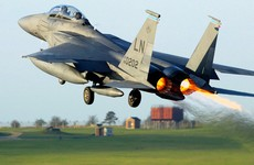 Pilot found dead after US fighter jet crashes into North Sea